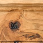 Sienna Stain on Rustic Hickory