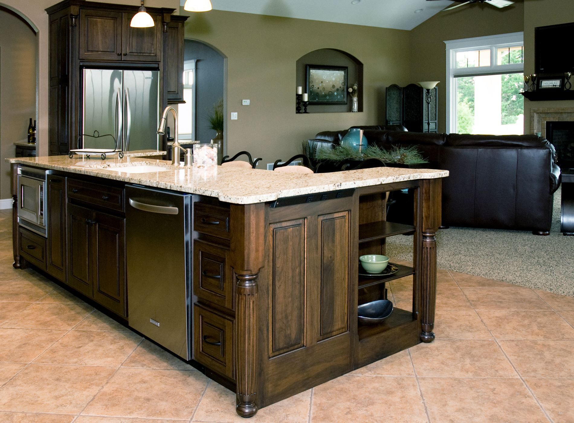 Eat In Kitchen Gallery Custom Wood Products