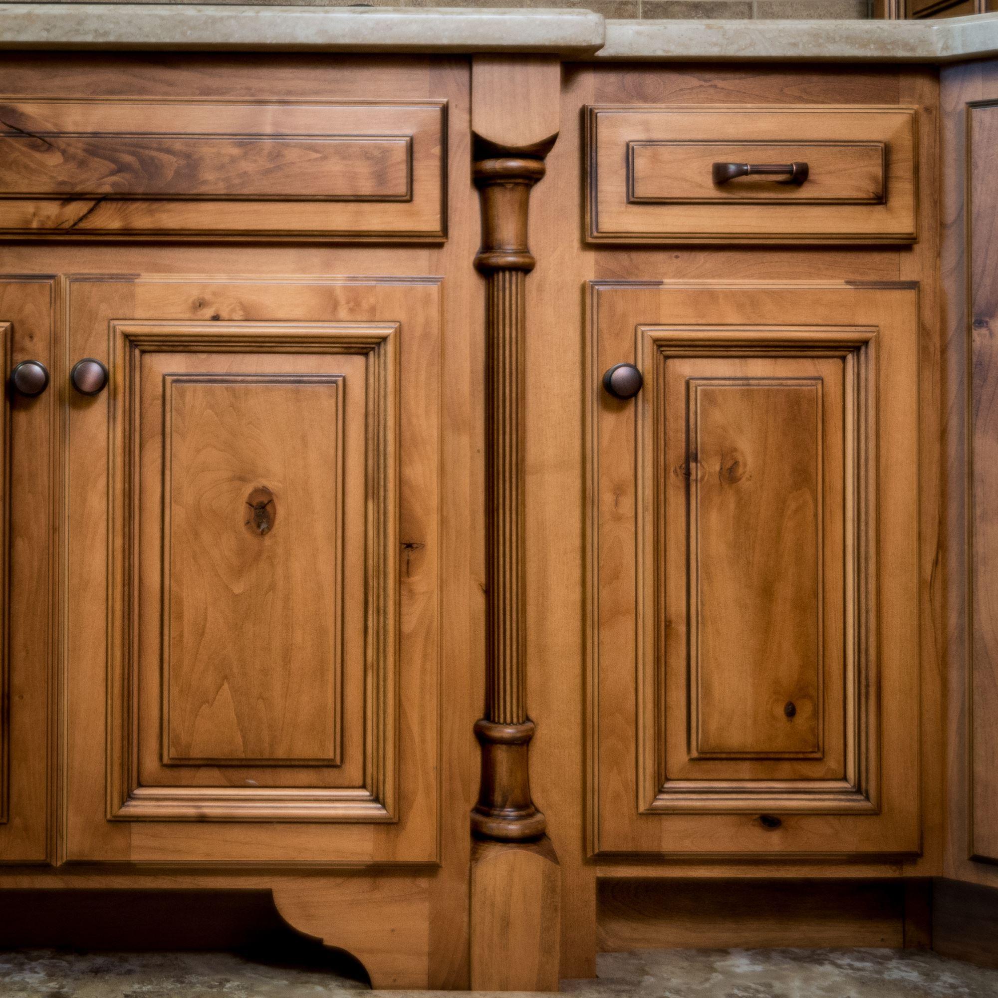 Reeded Cabinet Columns