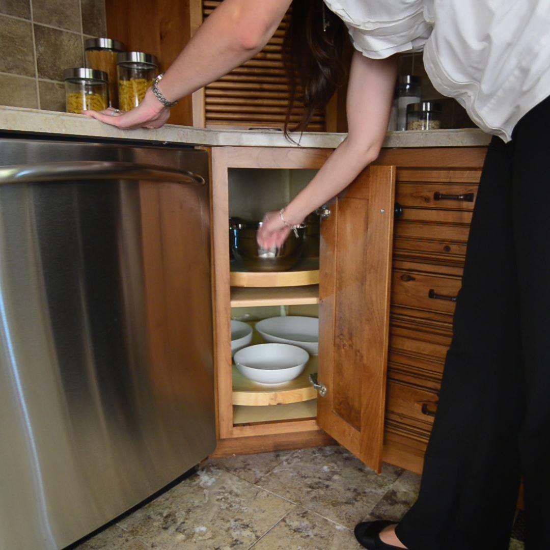 Corner Cabinet Solutions   Storage Solutions   Custom Wood ...