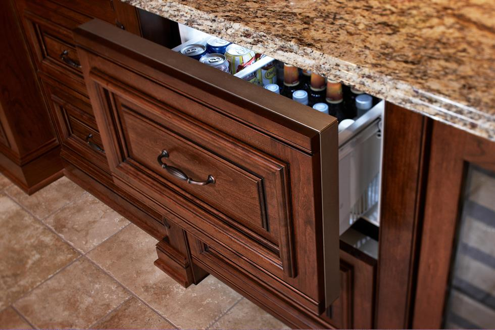 Refrigerator Drawer Appliance Panel