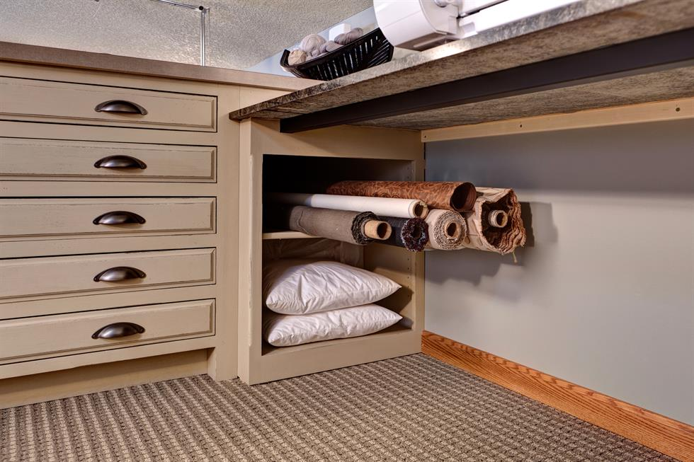fabric bolt storage