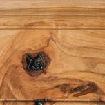 Fruitwood Stain on Rustic Hickory