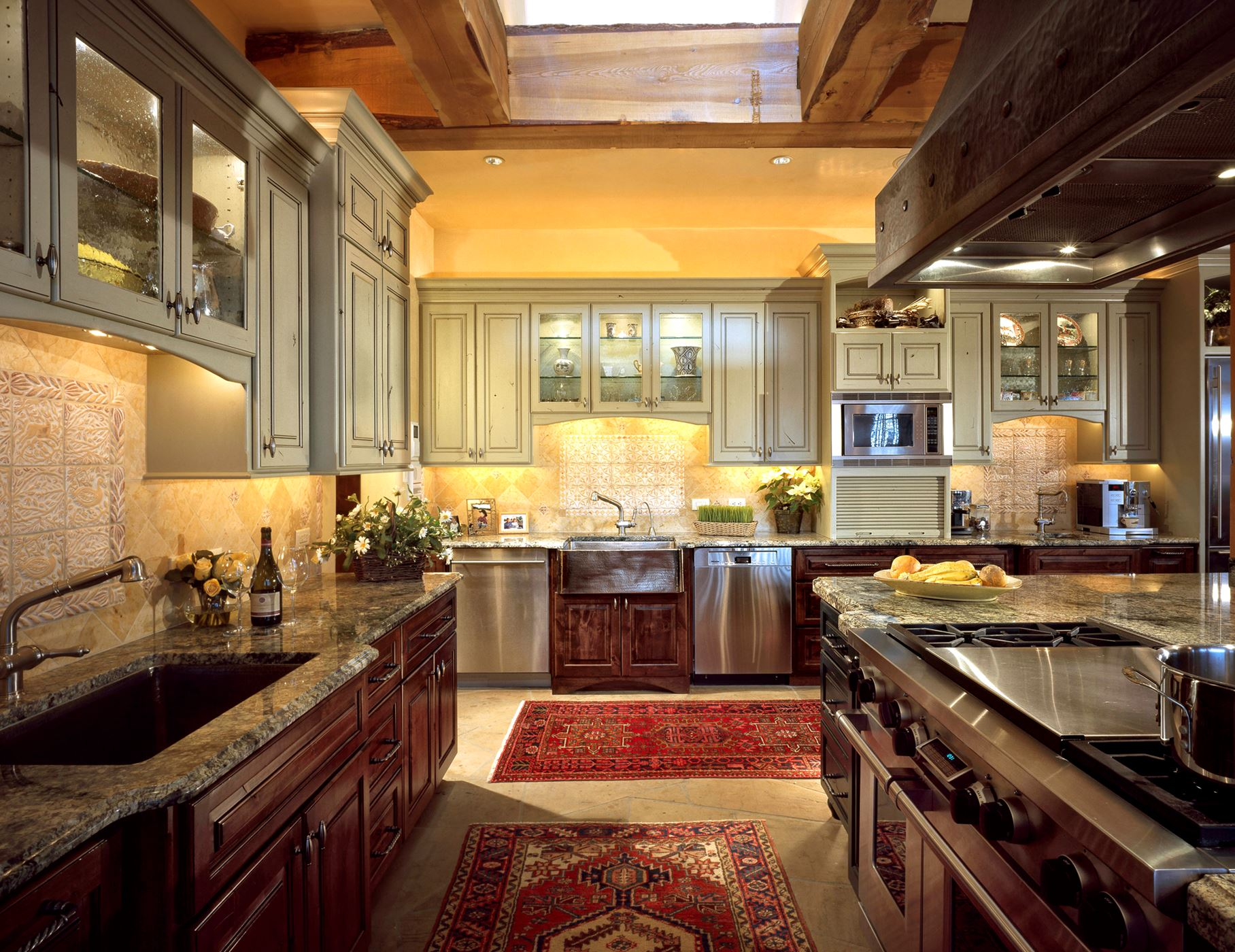 Chef S Dream Kitchen Gallery Custom Wood Products
