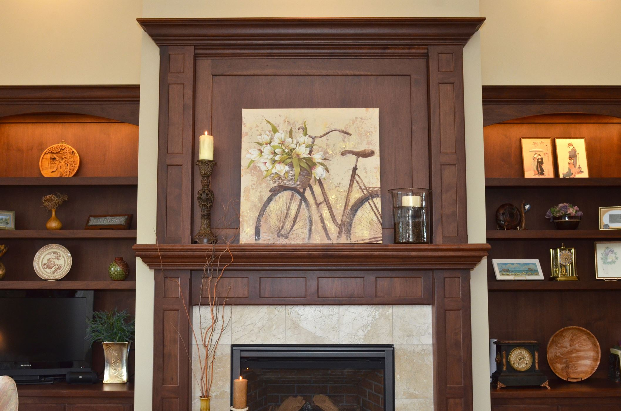 Classic Fireplace - Gallery - Custom Wood Products  Handcrafted