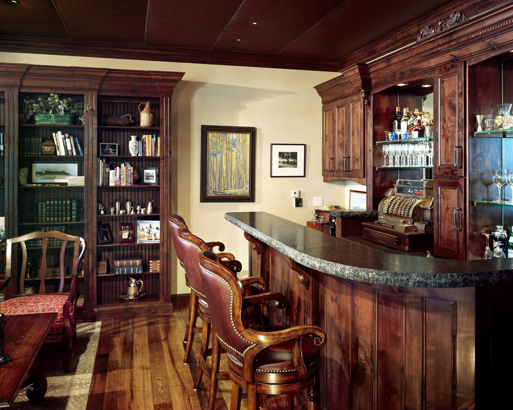 Speakeasy Inspired | Gallery | Custom Wood Products   Handcrafted Cabinets