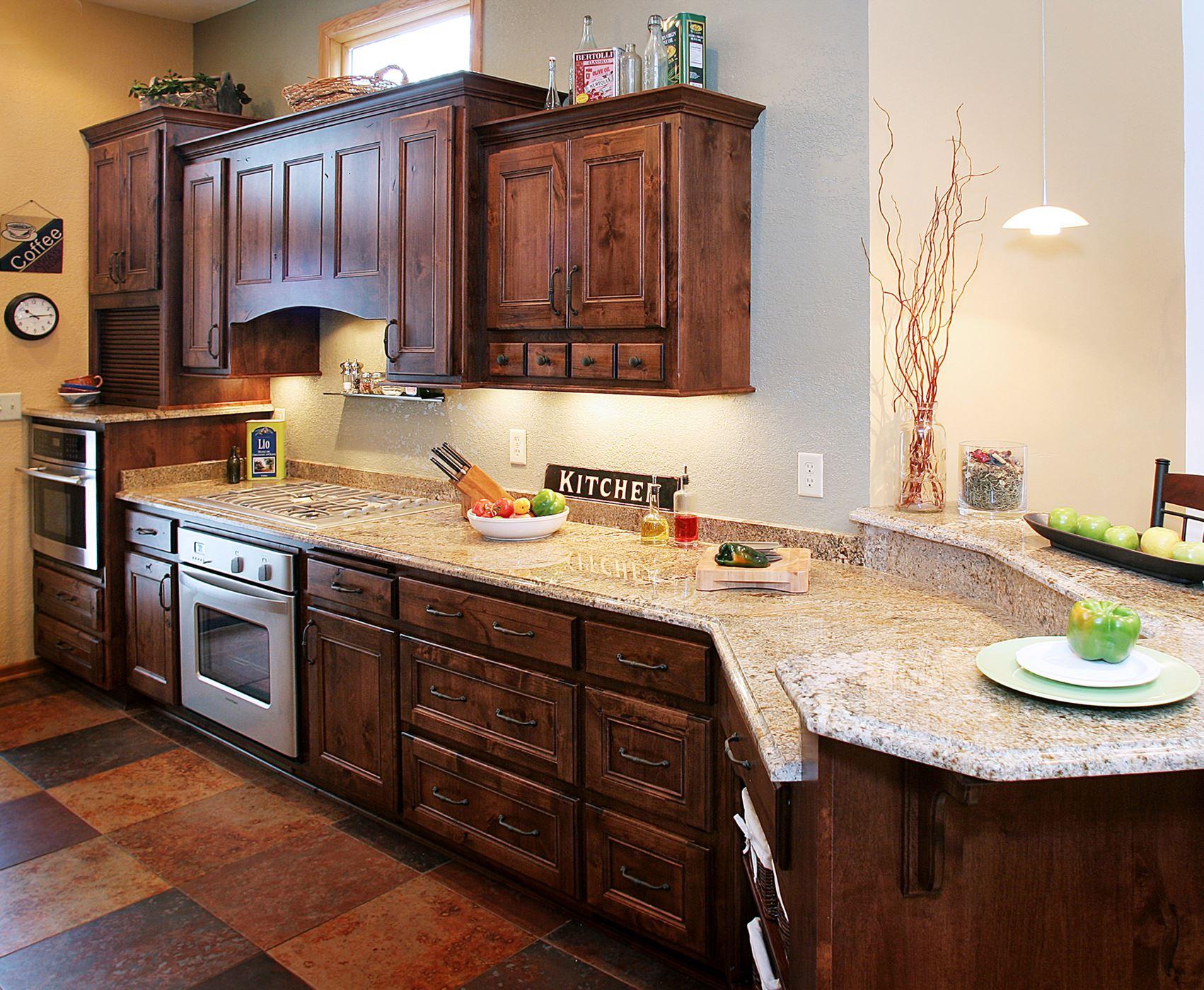 Alder Kitchen   Gallery   Custom Wood Products ...