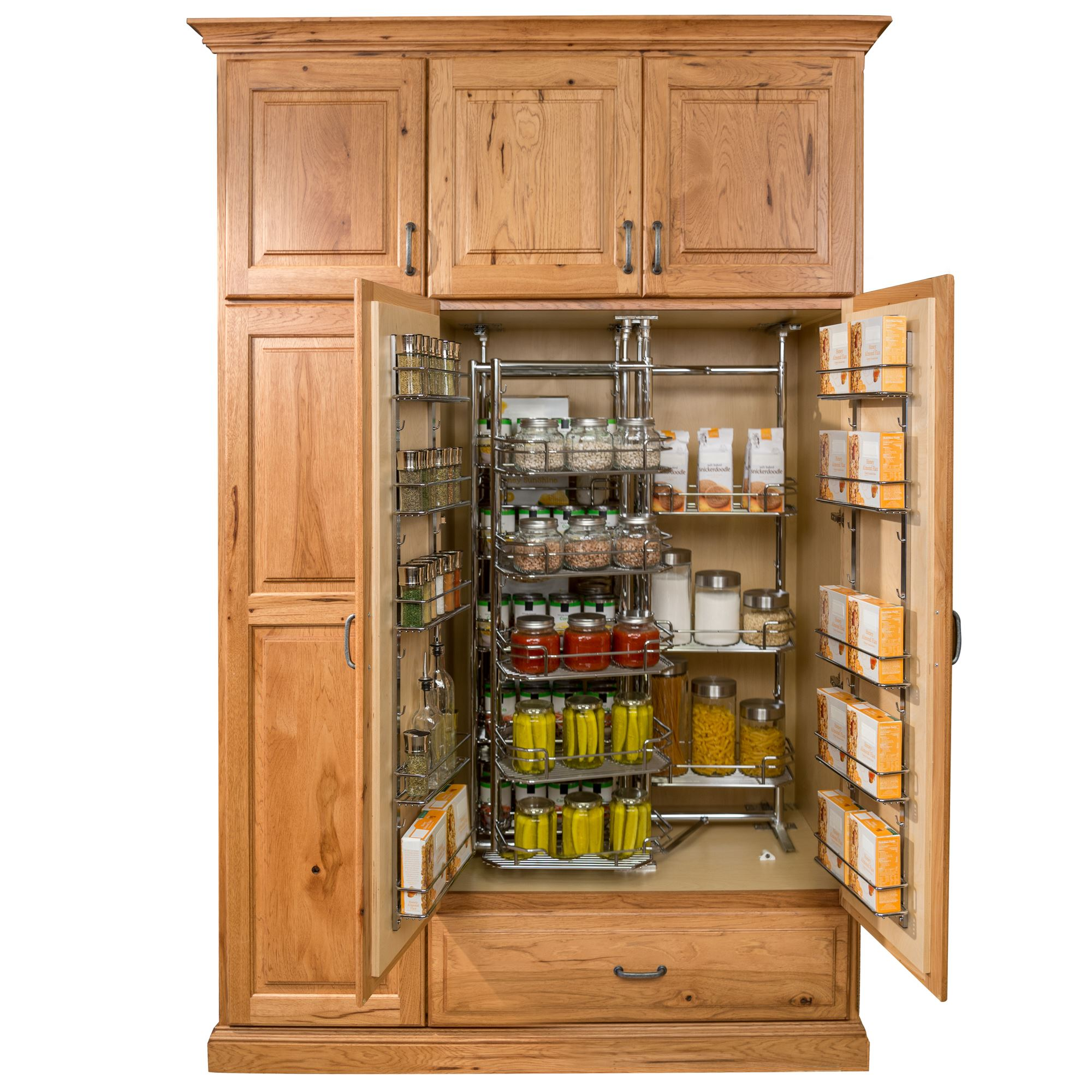 kitchen cabinet racks pantry and food storage storage solutions custom wood 19373