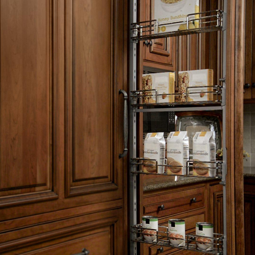 Pantry Door Storage Solutions: Pantry And Food Storage