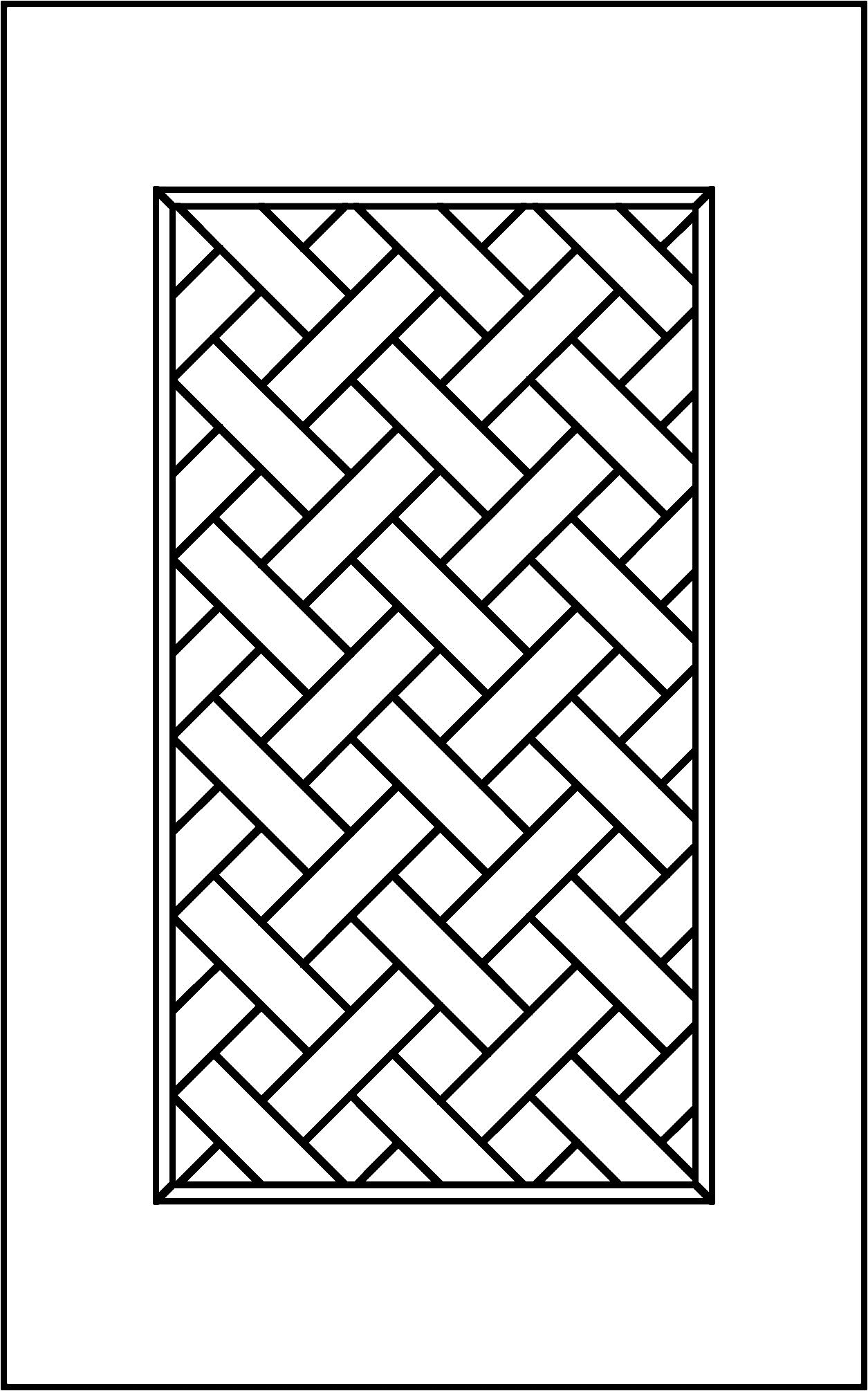 Traditional Basketweave