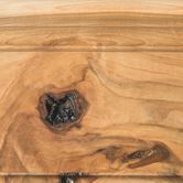 Natural on Rustic Hickory