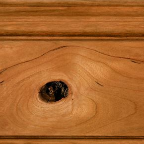 Golden Stain on Rustic Cherry