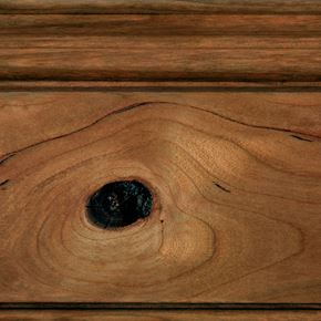 Coffee Stain on Rustic Cherry